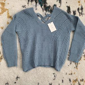 Pink Rose Sweater, Retail $45